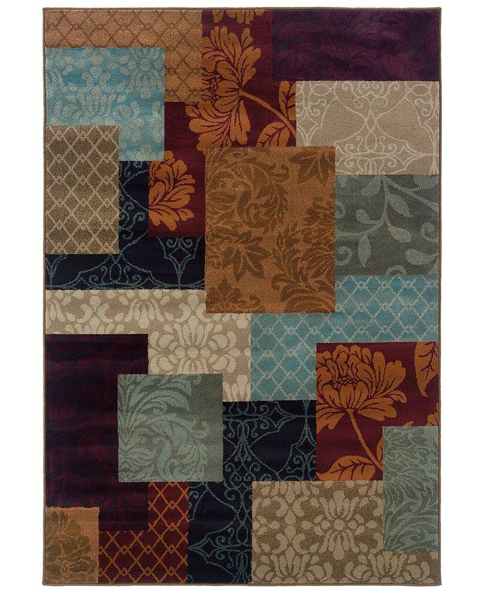 "Oriental Weavers - Adrienne 4198A Multi/Multi 3'10"" x 5'5"" Area Rug"