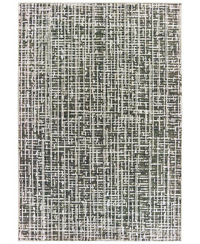 """Oriental Weavers Bowen 2066W Gray/Ivory 6'7"""" x 9'6"""" Area Rug"""