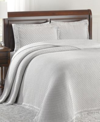 Woven Jacquard Queen Bedspread