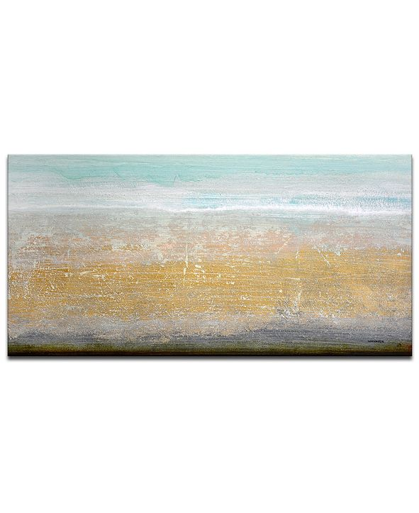 Ready2HangArt 'Beach Sand' Canvas Wall Art, 18x36""