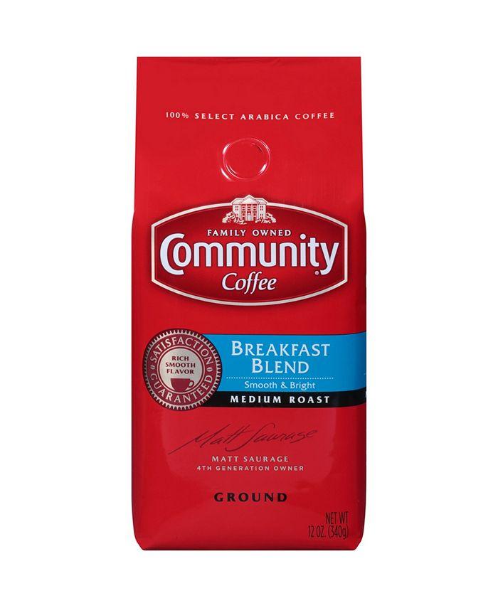 Community Coffee - CS-6: 12 OZ BRKFST BLND