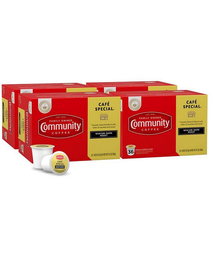 Community Coffee - CS-4: 36 CT SS CUPS CAFÉ SPEC