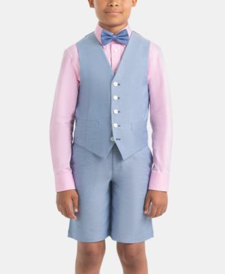 Big Boys Linen Vest