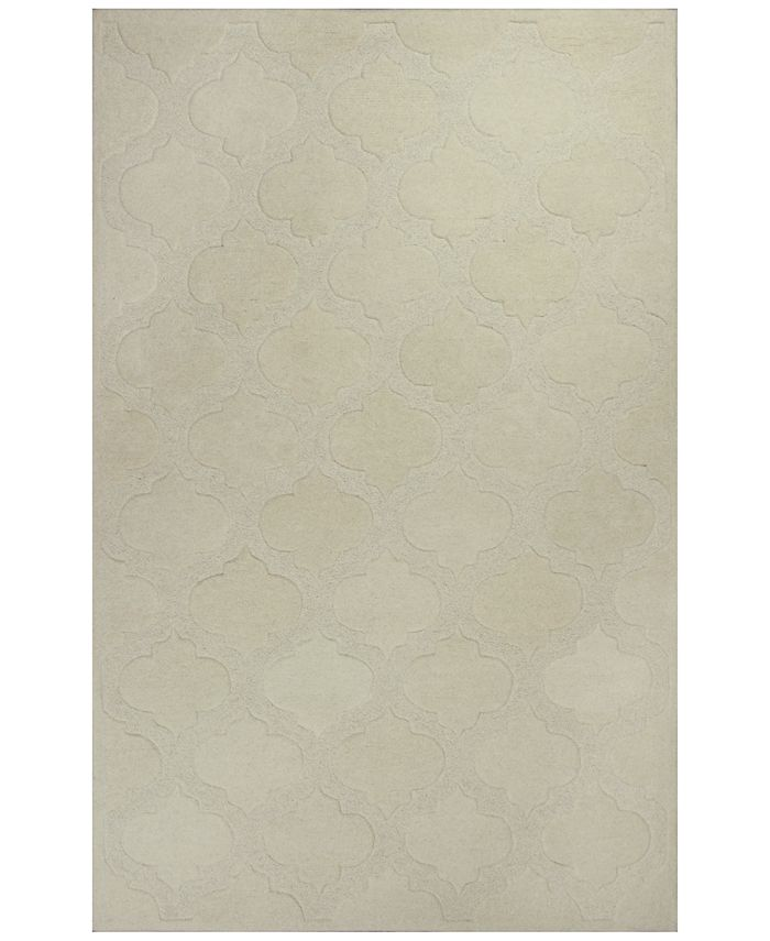 Kas - Eternity Arabesque 1069 Ivory 5' x 8' Area Rug