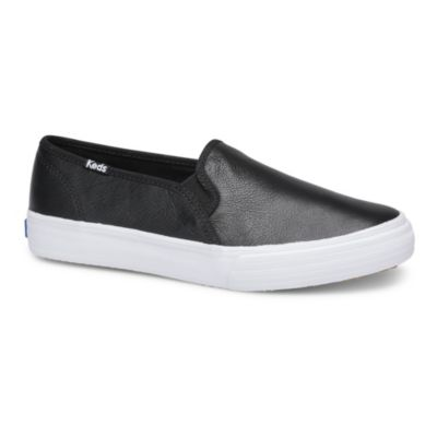 Double Decker Leather Sneakers