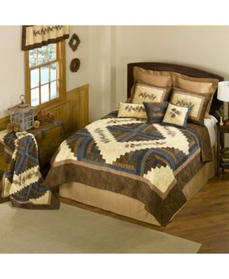 Cabin Raising Pine Cone Throw