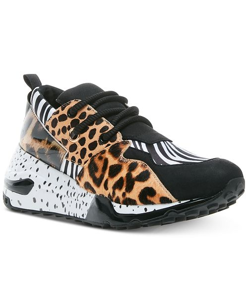 Calendario Inolvidable número  Steve Madden Women's Cliff Sneakers & Reviews - Athletic Shoes & Sneakers -  Shoes - Macy's