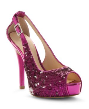 Guess Shoes, Hondola Peep Toe Pumps Women's Shoes
