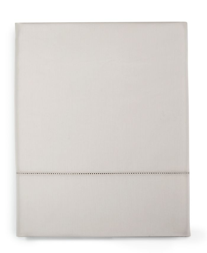 Charter Club - Damask Solid Cotton 550-Thread Count Twin Flat Sheet