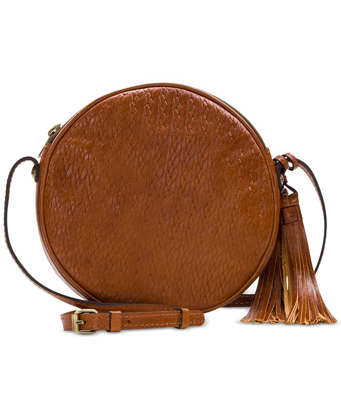 Patricia Nash - Woven Leather Scafati Crossbody