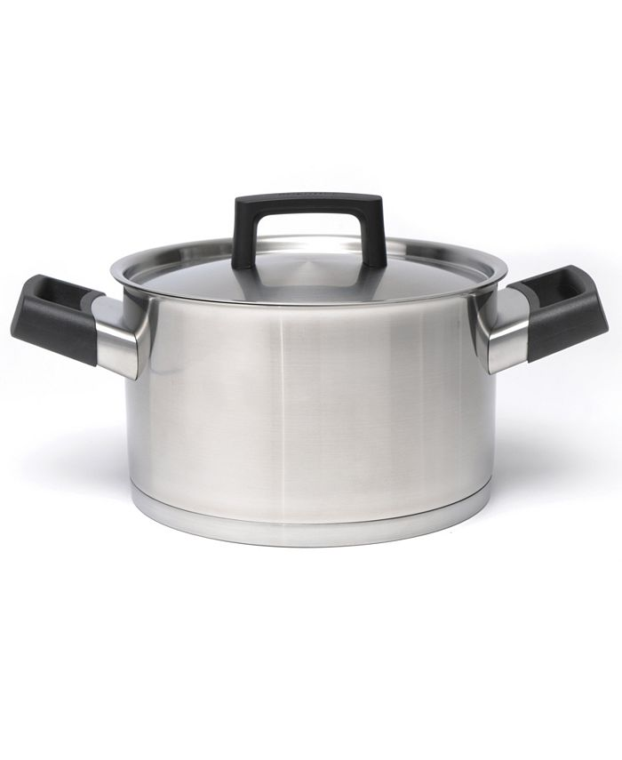 "BergHOFF - Ron 8"" 18/10 Stainless Steel Covered Casserole"