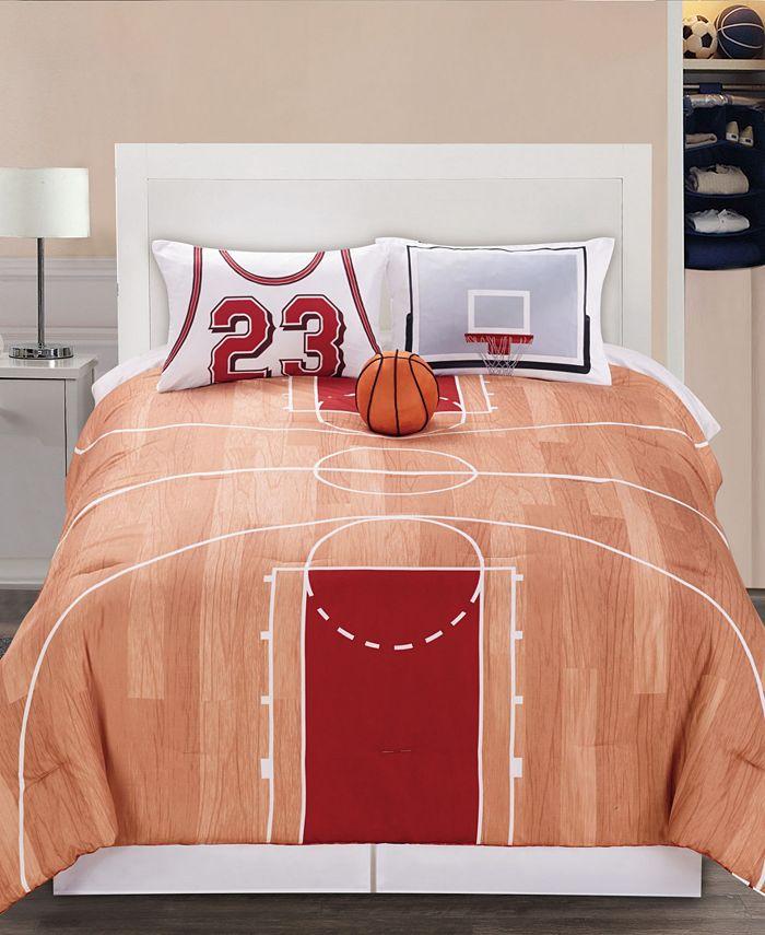 Riverbrook Home - B-Ball 4-Pc. Comforter Sets