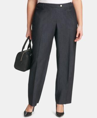 Plus Size Modern Dress Pants