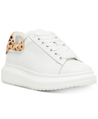 Glazed Lace-Up Chunky Sneakers