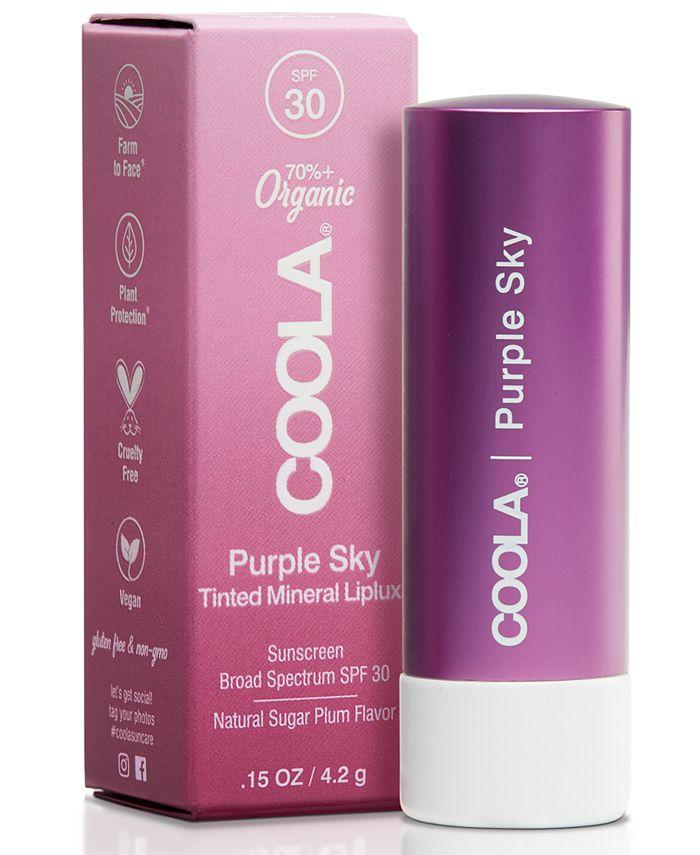 COOLA - Coola Purple Sky Mineral Liplux SPF 30, 0.15-oz.