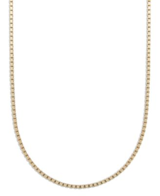18K Gold over Sterling Silver Necklace, 18