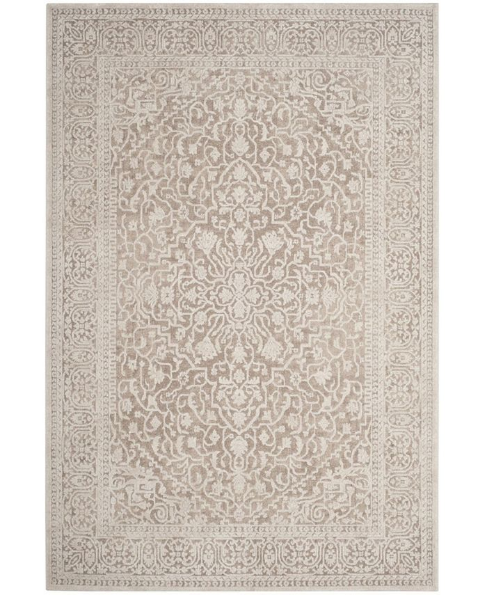 Safavieh Reflection Beige And Cream 6 X 9 Area Rug Reviews Rugs Macy S