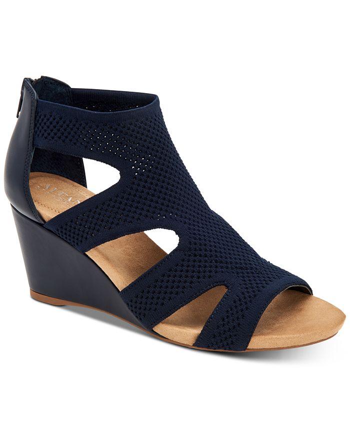 Alfani - Pennii Dress Wedge Sandals