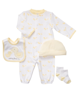 Carter's Baby Set, Baby Boys or Baby Girls 4-Piece Duck Gift Set