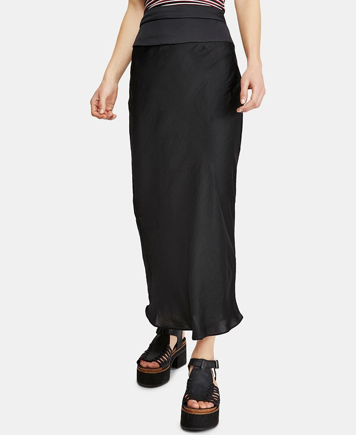 Free People - Normani Bias Midi Skirt