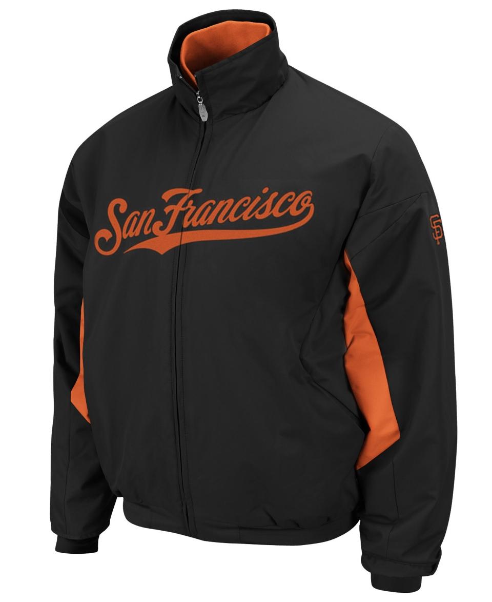 NEW Majestic MLB Jacket, San Francisco Giants Triple Peack Premier