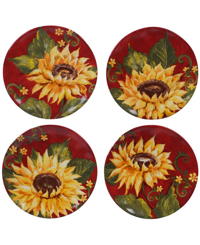 Certified International - 4pc Canape Plate