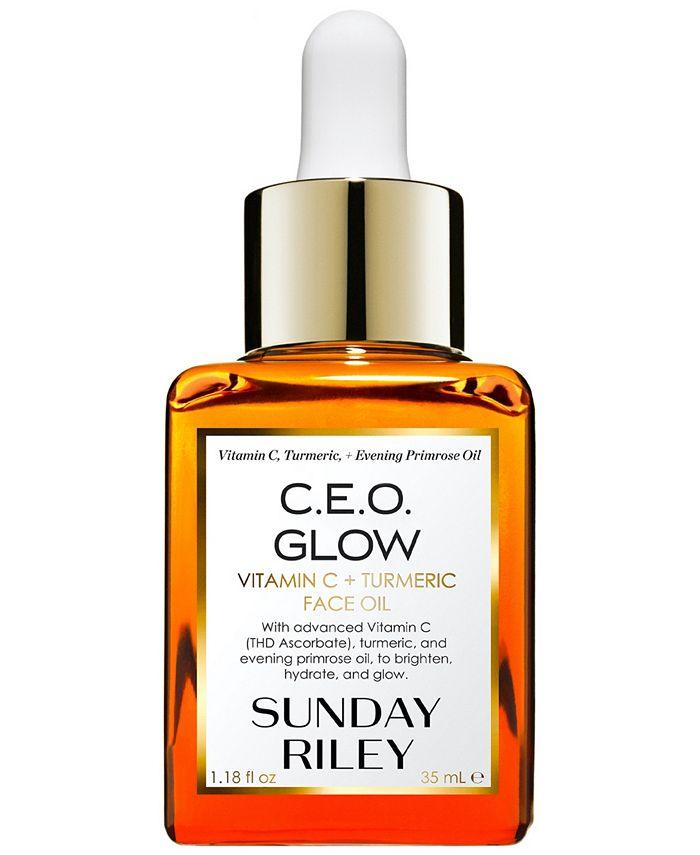Sunday Riley - C.E.O. Glow Vitamin C + Turmeric Face Oil, 1.18-oz.