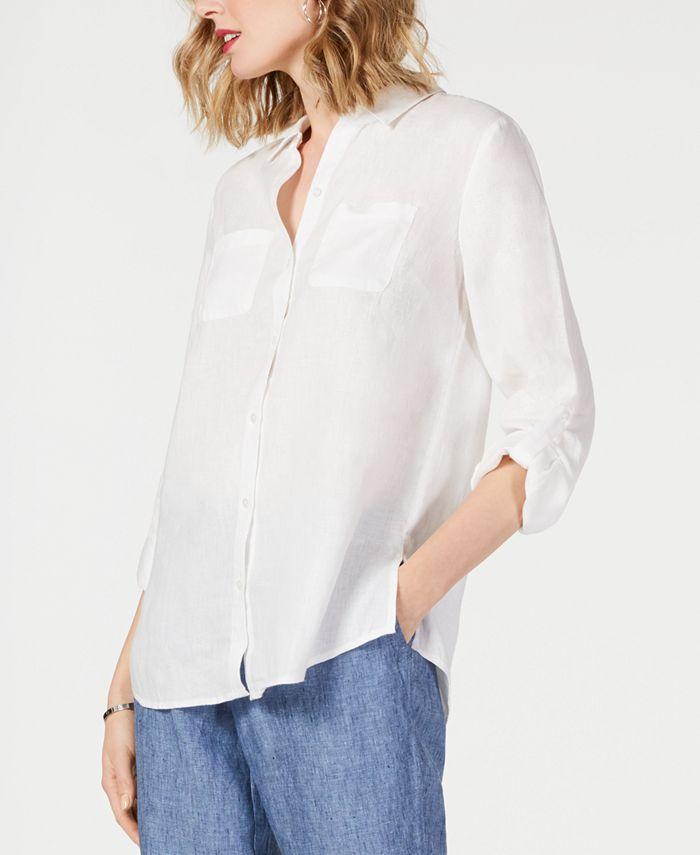 Charter Club - Linen Utility Shirt
