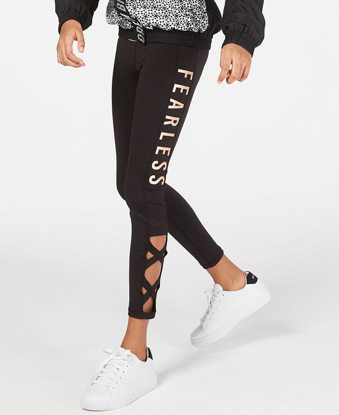 Ideology - Big Girls Fearless Caged Leggings