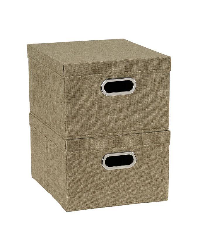 Household Essentials - 2-Pc. Moss Storage Box Set