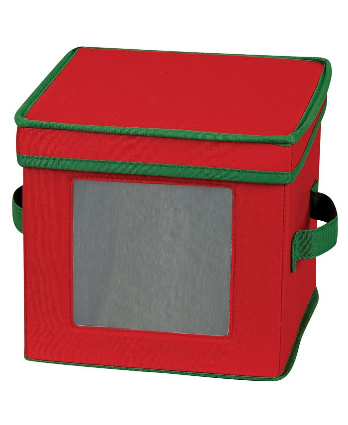 Household Essentials - Holiday China Dessert Plate Storage Box