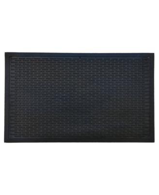 """Ridge Scraper 36"""" x 60"""" Rubber Doormat"""