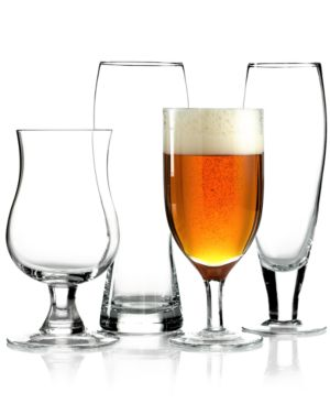 Closeout! Mikasa Glassware, BrewMaster's Varietal 4-Piece Beer Glass Set