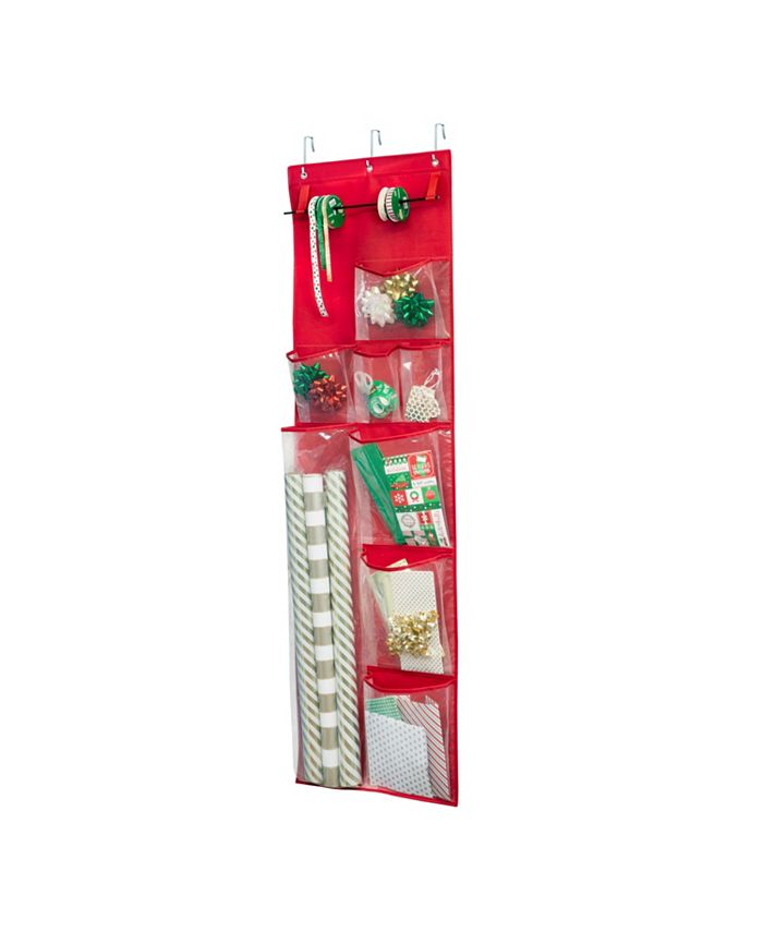 Honey Can Do - Over-The-Door Wrapping Paper Organizer