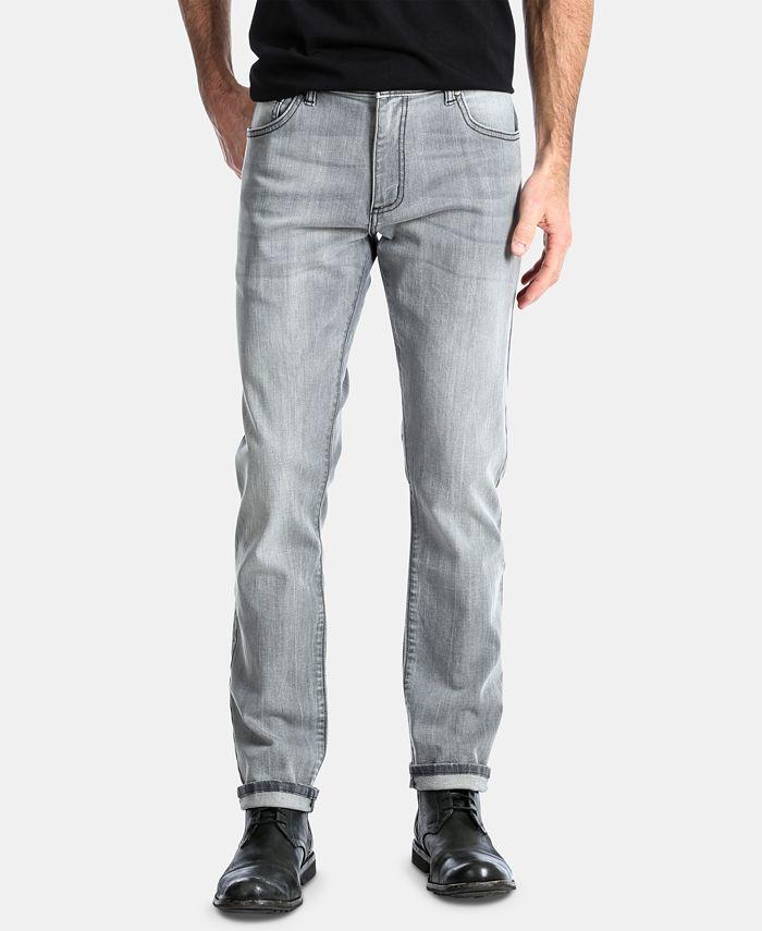 Wrangler - Men's Slim-Fit Tapered-Leg Stretch Jeans