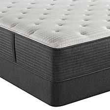 """Beautyrest Silver BRS900-C-TSS 14.5"""" Medium Firm Mattress Set - King, Created for Macy's"""