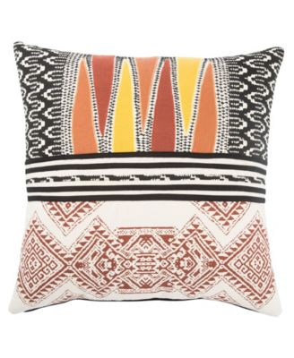 Museum Ifa By Mesa Geometric Poly Throw Pillow 22