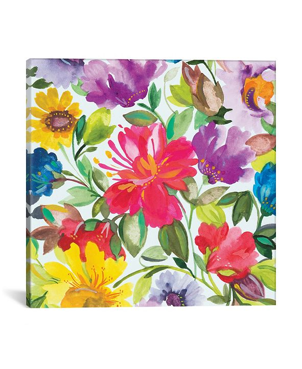 "iCanvas ""Hibiscus"" By Kim Parker Gallery-Wrapped Canvas Print - 26"" x 26"" x 0.75"""