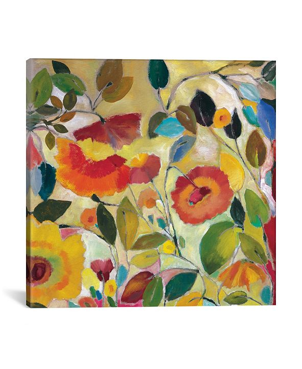 "iCanvas ""Garden Fantasie"" By Kim Parker Gallery-Wrapped Canvas Print - 26"" x 26"" x 0.75"""