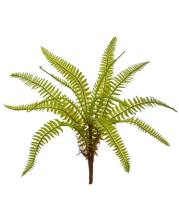 """Nearly Natural - 12"""" Fern Artificial Plant (Set of 12)"""
