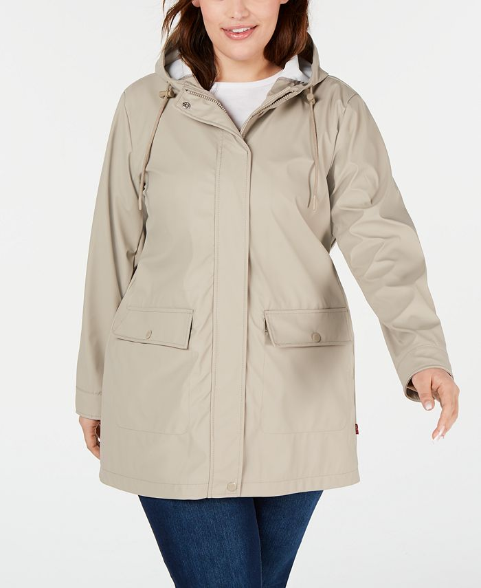 Levi's - Plus Size Colorblocked Rain Jacket