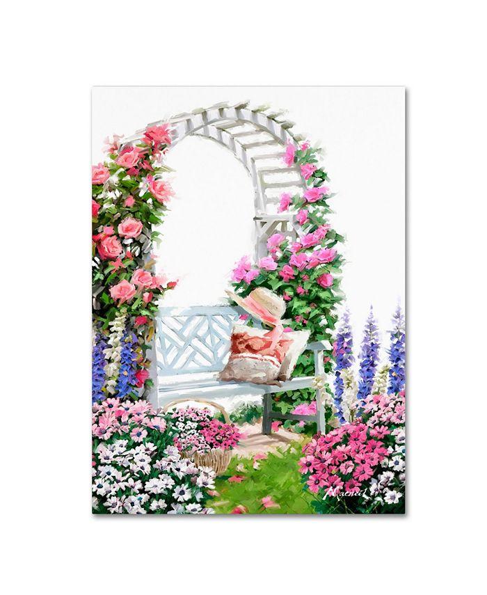 Trademark Global The Macneil Studio Rose Arbor Canvas Art 32 X 24 X 2 Reviews All Wall Décor Home Decor Macy S