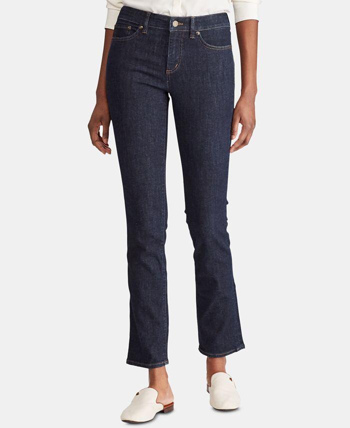 Lauren Ralph Lauren - Petite Premier Straight Curvy Jeans