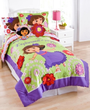 Dora Picnic 3 Piece Twin Sheet Set Bedding