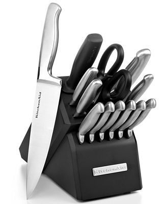 Kitchenaid Cutlery Stainless Steel 14 Piece Set Cutlery Knives Kitchen Macy 39 S