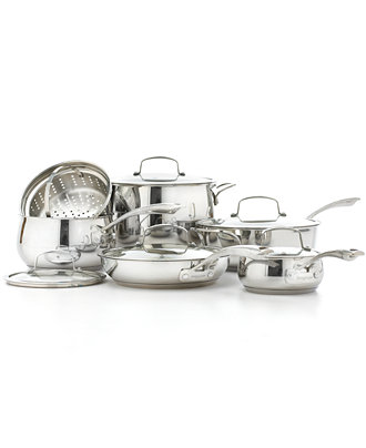 Belgique Stainless Steel 11 Piece Cookware Set