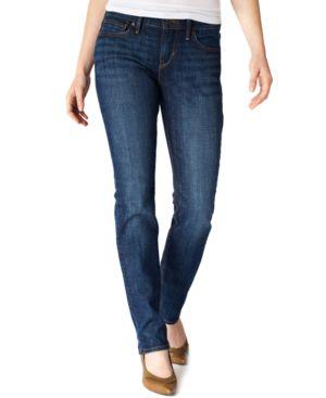 Levi's Petite Jeans, Slimming Straight-Leg, Sapphire Wash