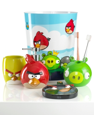Jay Franco Bath, Angry Birds Burst Collection