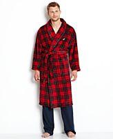 Nautica Sleepwear, Shawl Collar Plush Robe