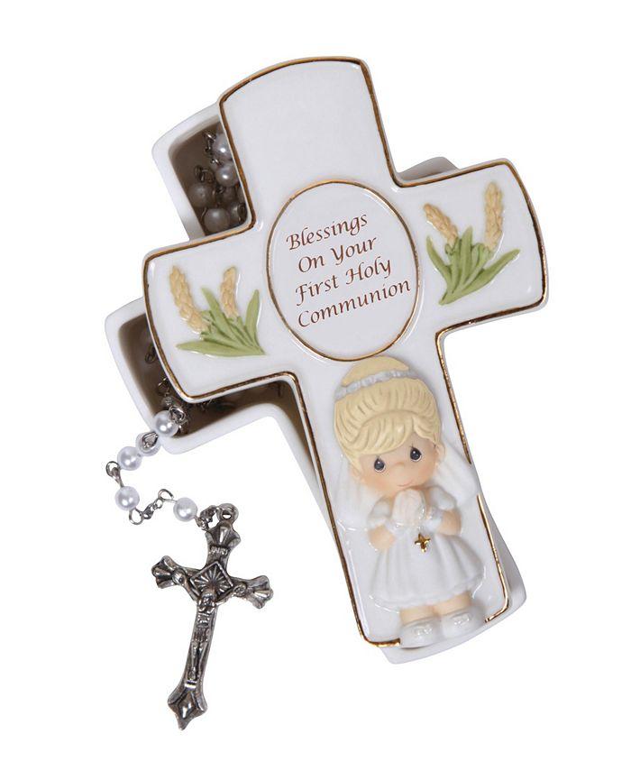 Precious Moments - h Rosary Girl 123406